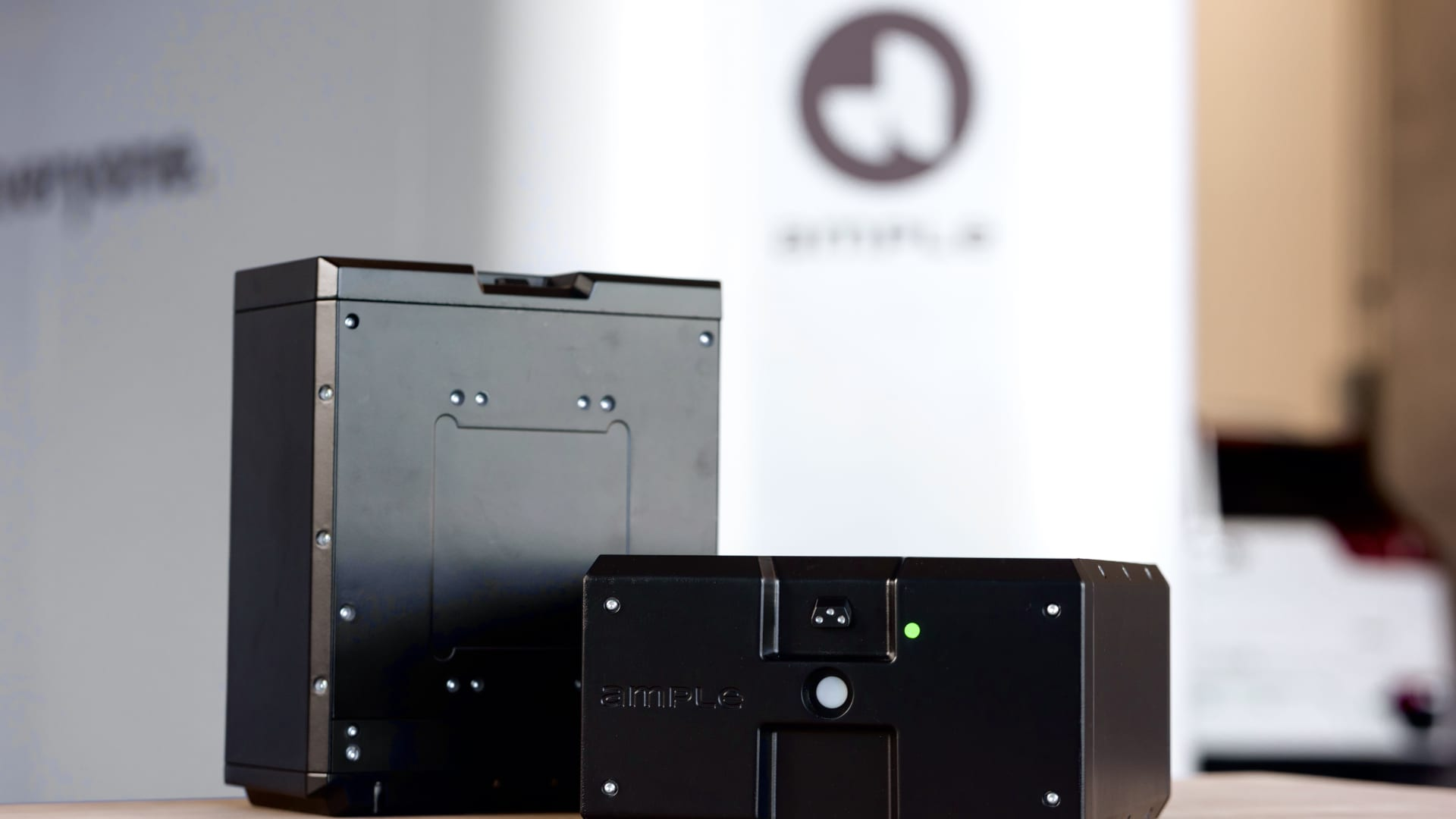 Ample's modular electric vehicle batteries.