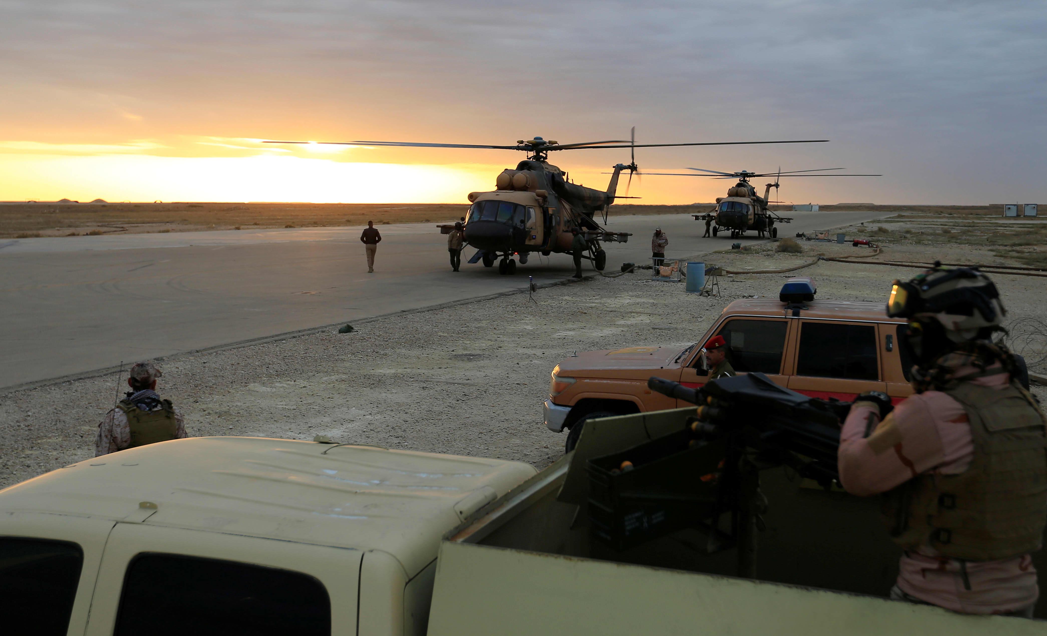 Pentagon confirms 10 rockets struck Iraqi base housing U.S. troops