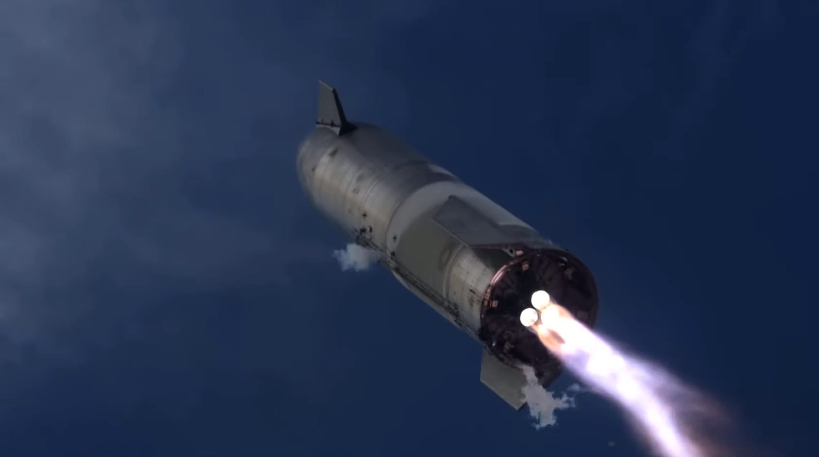 SpaceX Starship prototype rocket explodes after successful landing in high-altitude flight test