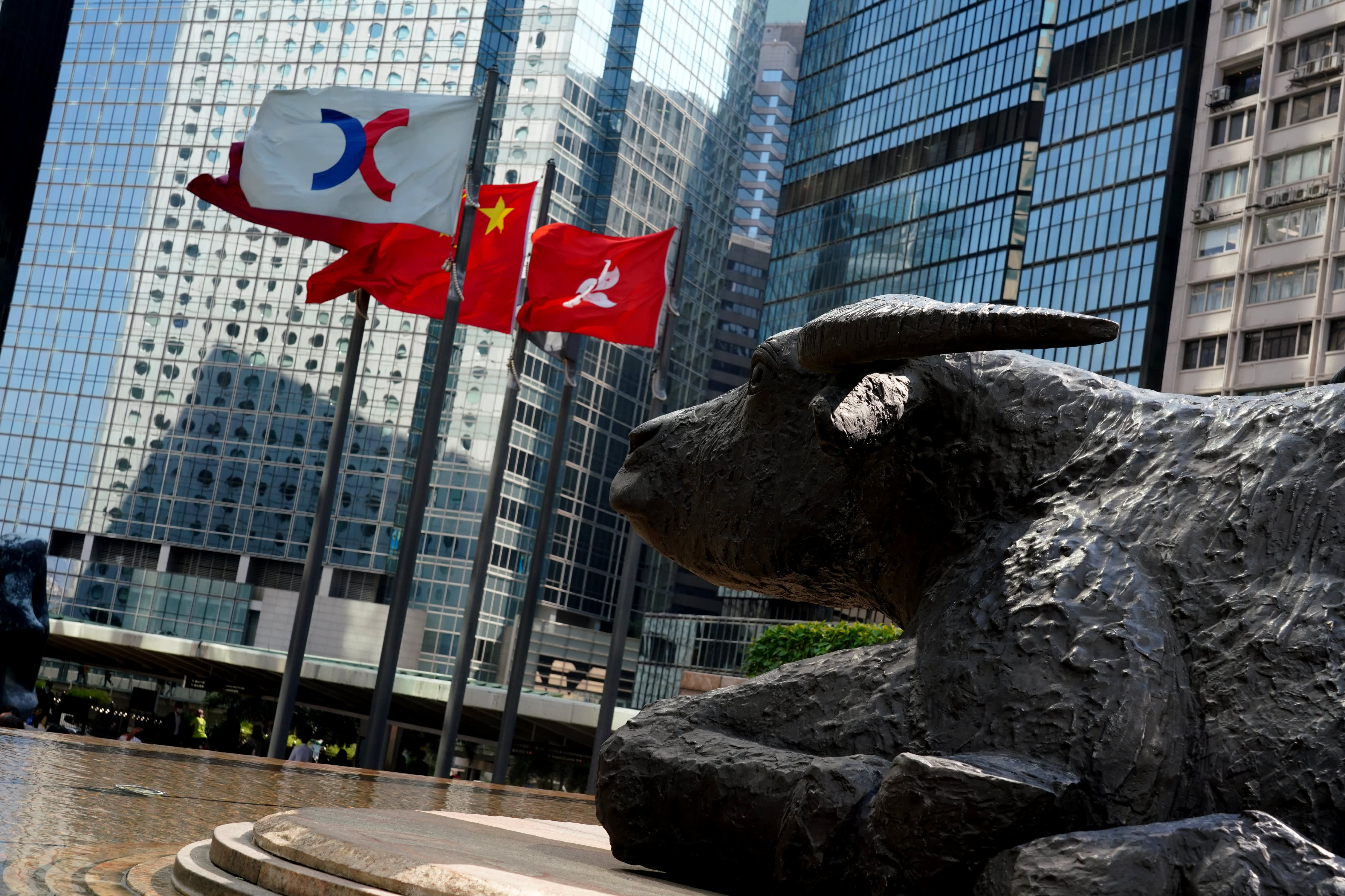 Hong Kong jumps nearly 2% as Asia-Pacific stocks rise; bitcoin bounces back