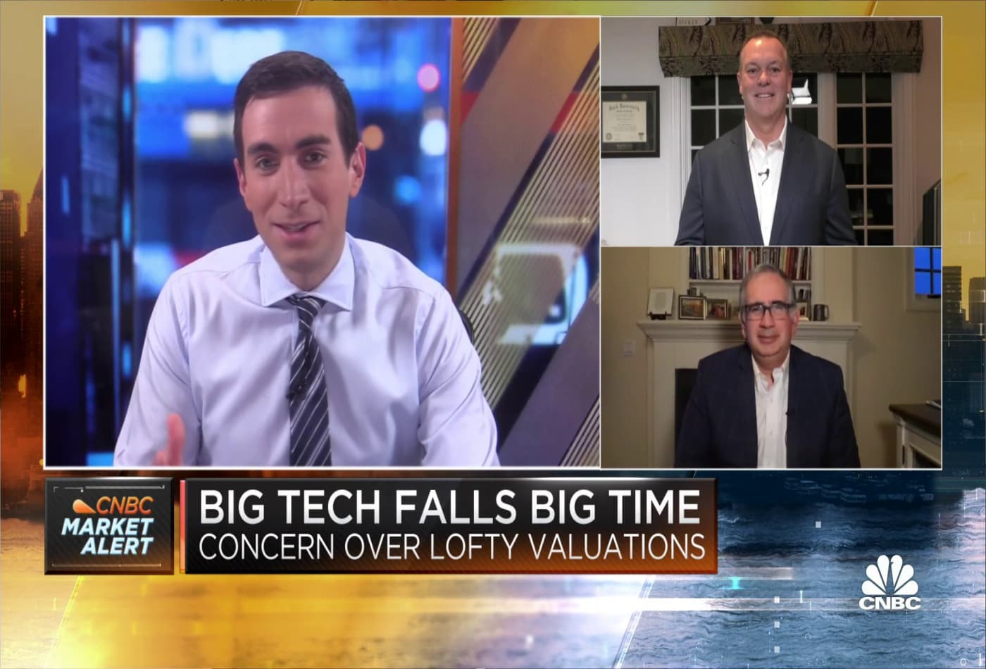 How two strategists are handling the recent decline in Big Tech stocks