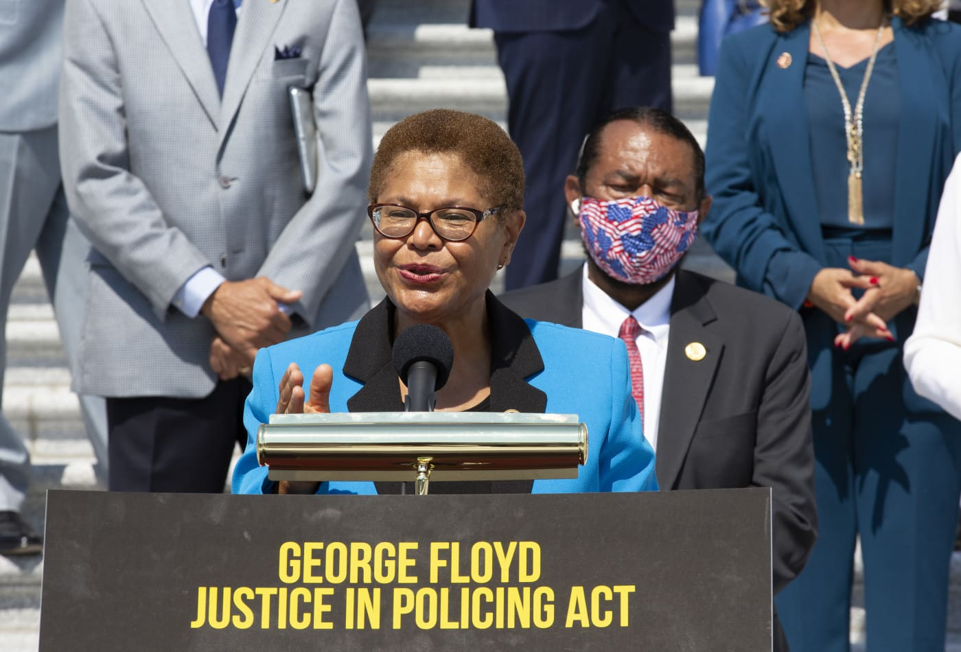 Congress is set to miss Biden's deadline to pass police reform bill as talks move forward