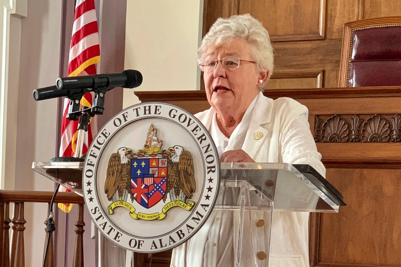 Alabama Gov. Ivey lifts statewide Covid mask mandate beginning April 9