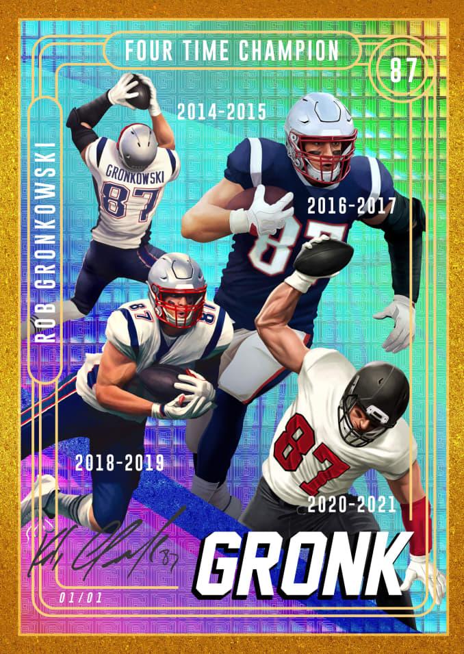 Gronk card