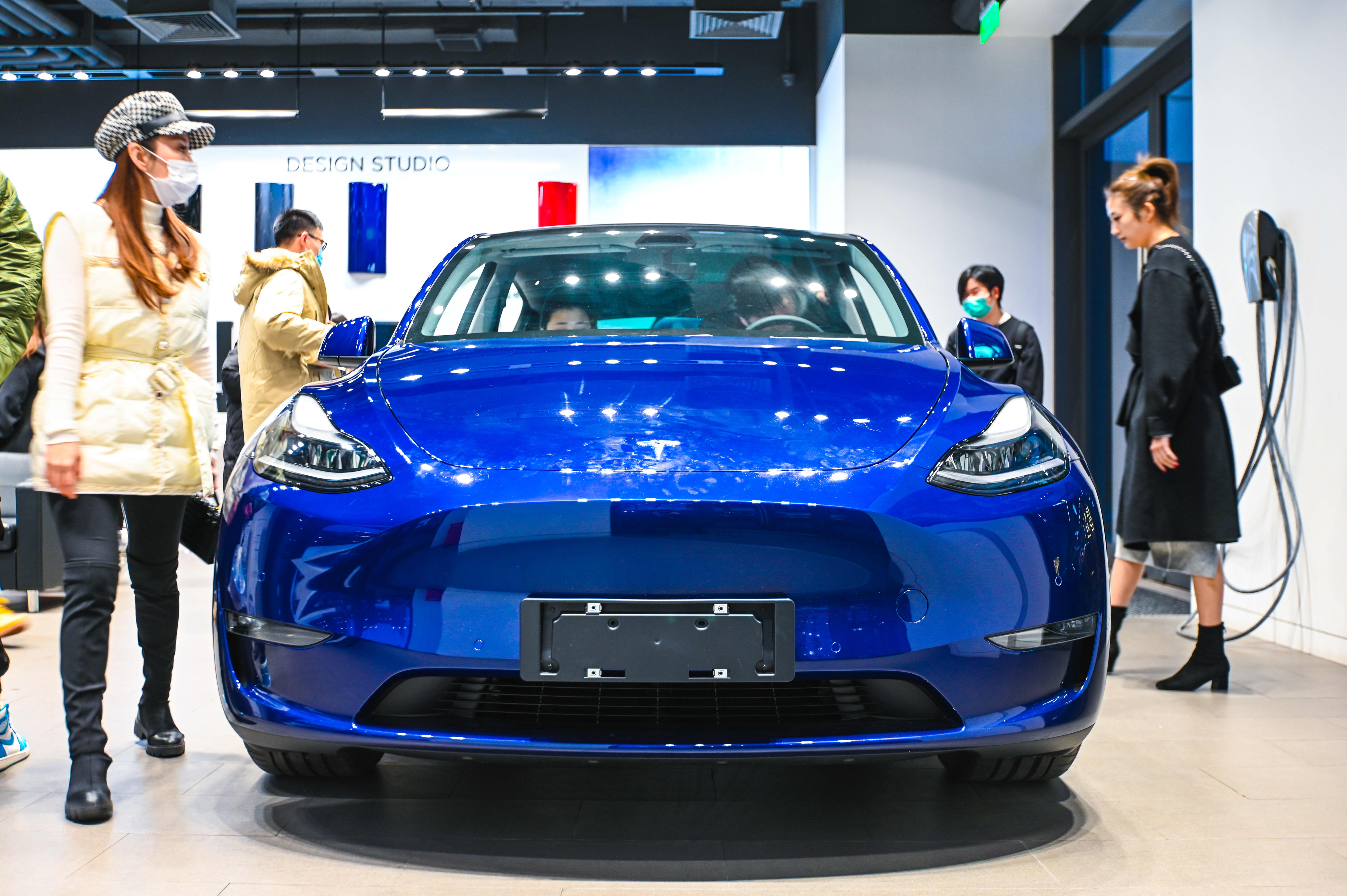 Tesla shares drop on report of steep May sales decline in China – CNBC