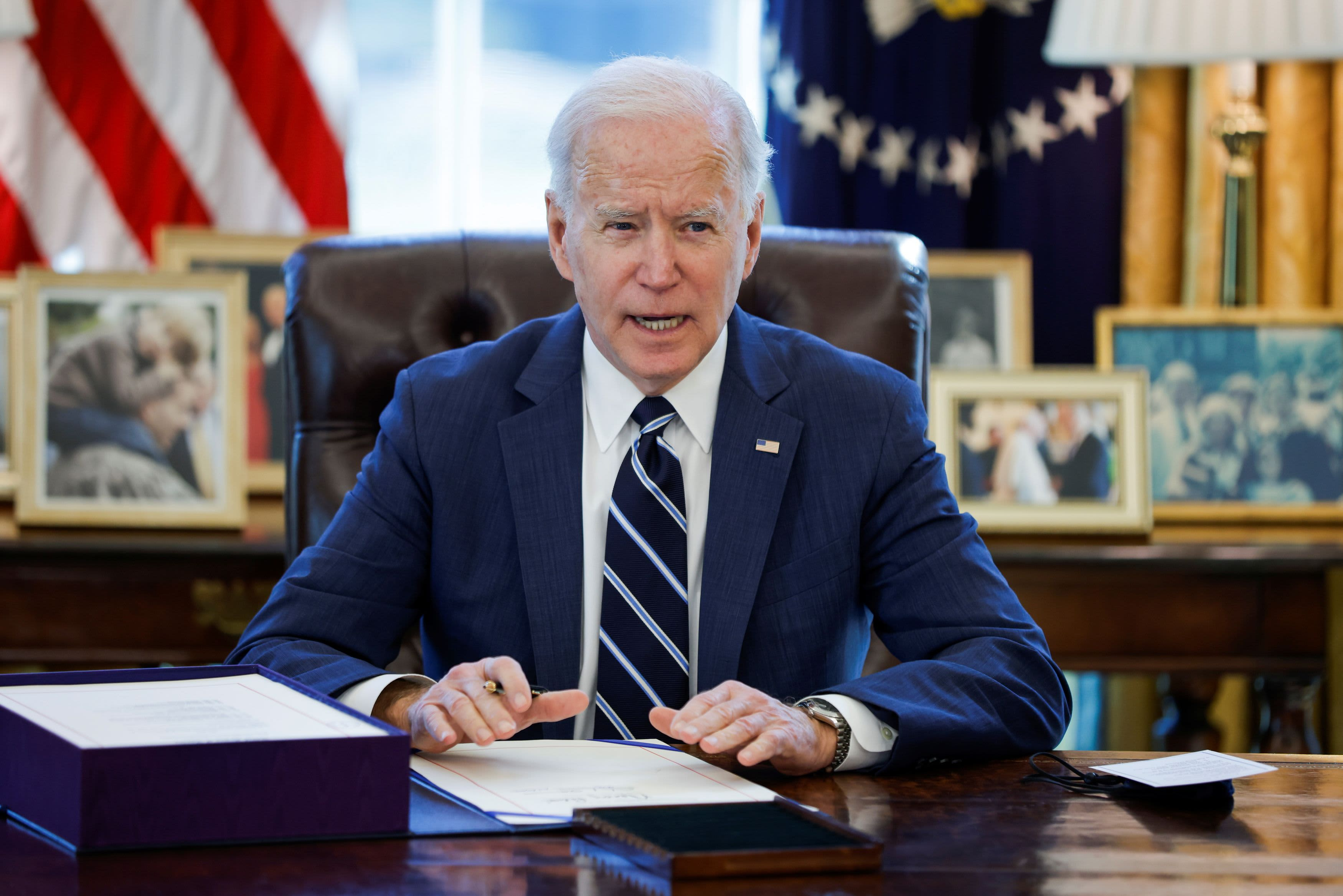Enjoy live: Biden delivers his very first primetime address on next actions in battle against Covid thumbnail