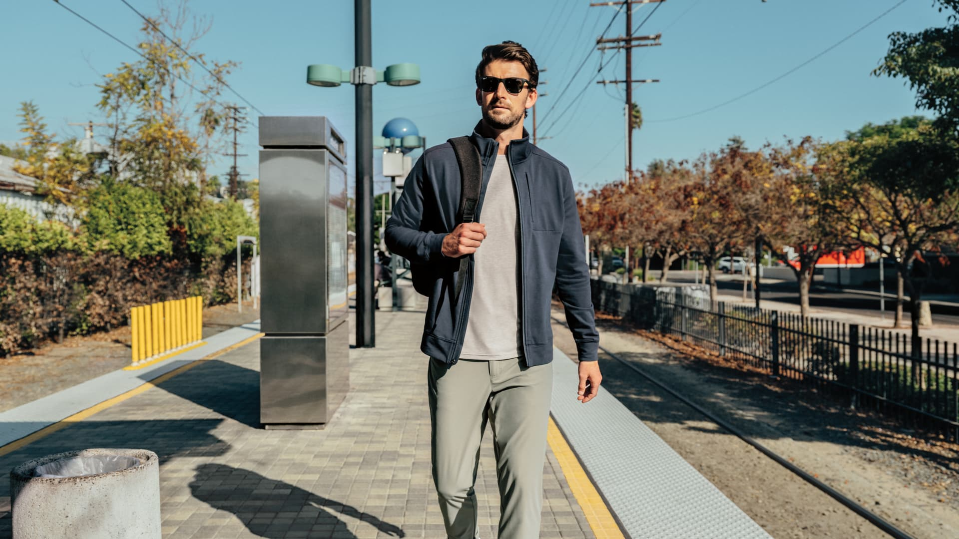 Items in the VRST line, which include everything from joggers, shorts, tees, quarter-zips, and hooded sweatshirts, retail anywhere from $30 to $120, putting it on the higher end of the market when it comes to price point.