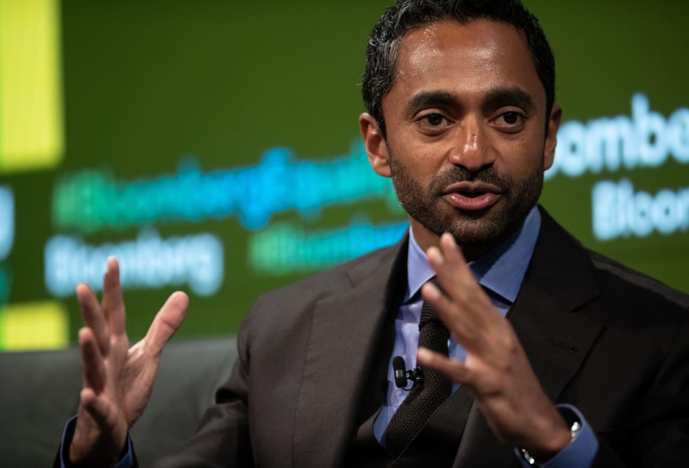 Billionaire investor Chamath Palihapitiya backs UK insurance start-up as it pivots from drones to cars