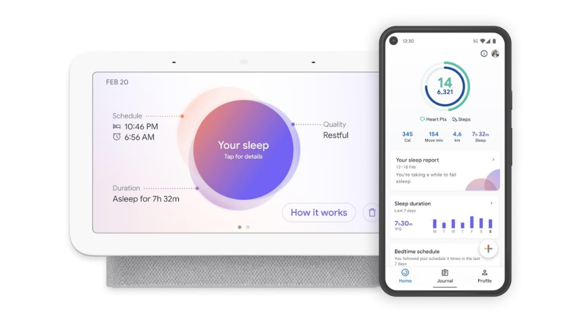 Second-generation Nest Hub with Sleep Sensing