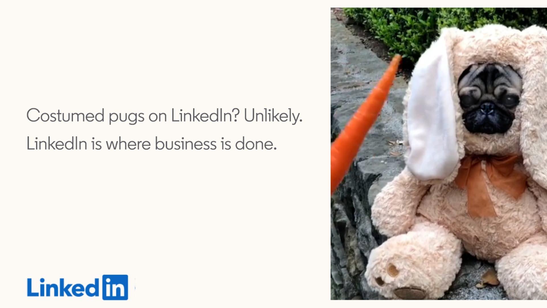 LinkedIn's new ad