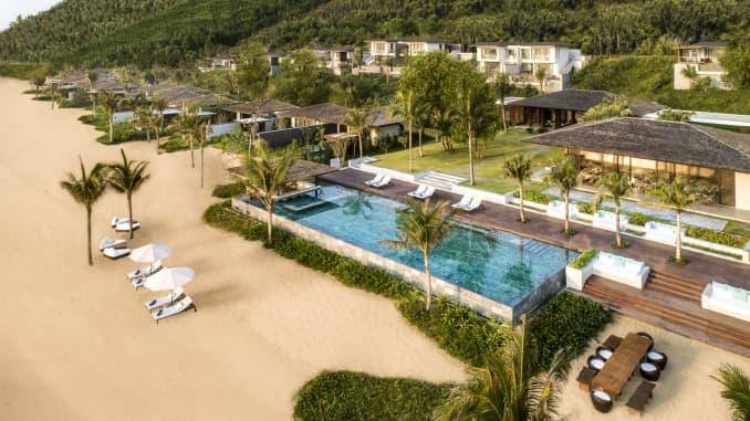 Anantara Quy Nhon Villas is an all-villa resort built in the South Central Coast region of Vietnam.