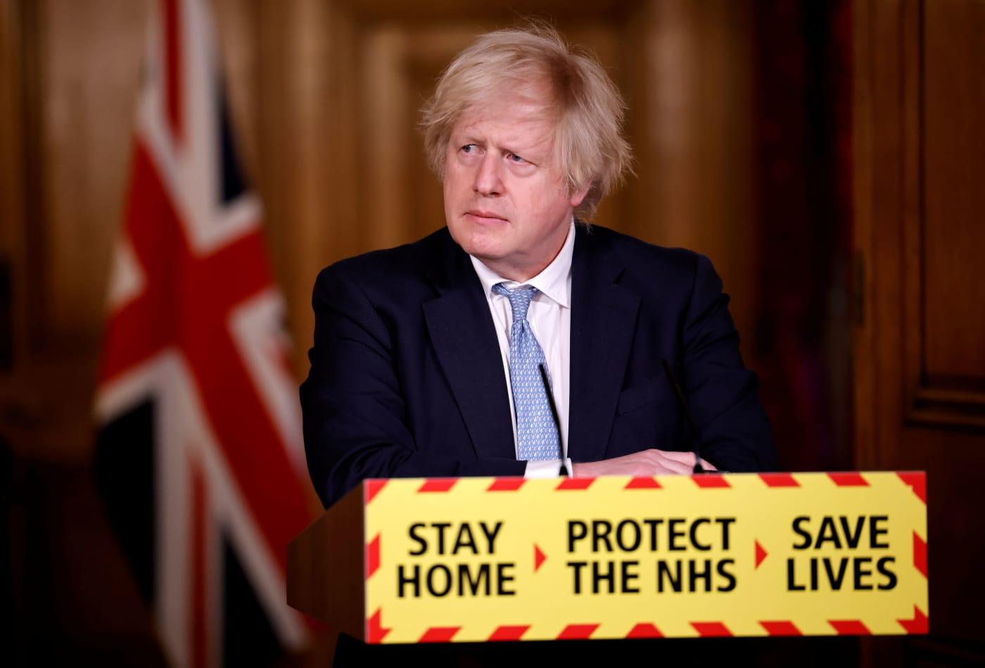 Hug with 'care and common sense,' Boris Johnson says as lockdown rules for England ease