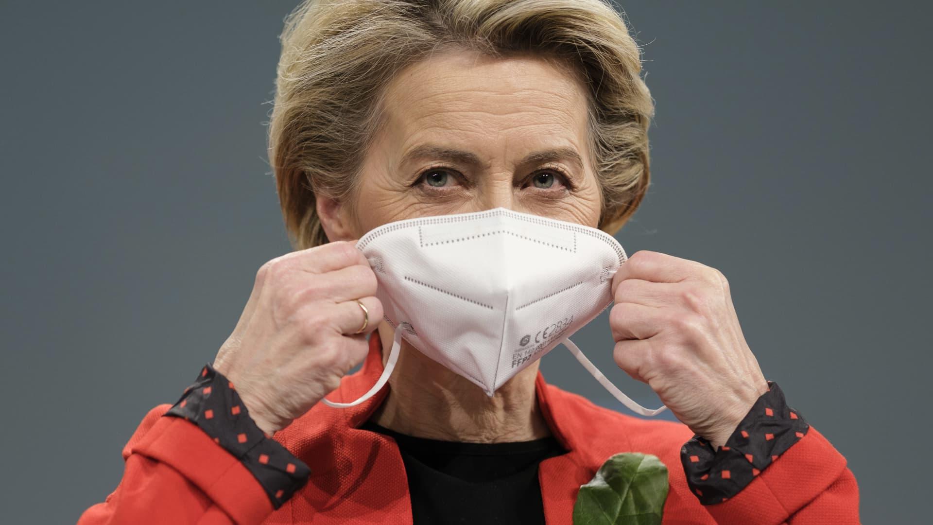 Ursula von der Leyen, European Commission president.