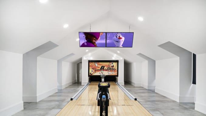 Sân chơi bowling hai làn