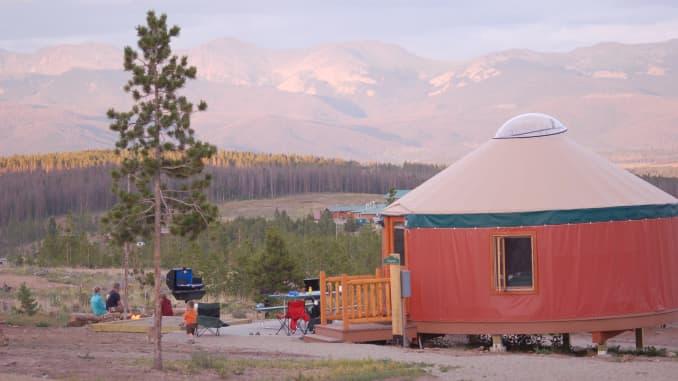 Snow Mountain Ranch, yurt, summer travel 2021