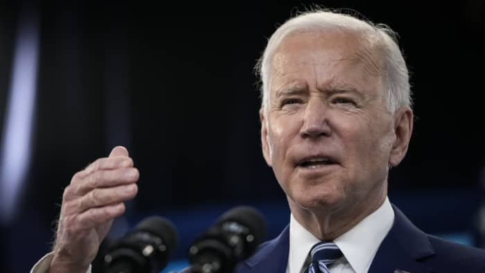 Fears of Biden's capital gains tax proposal are discounting stocks, Jim Cramer says