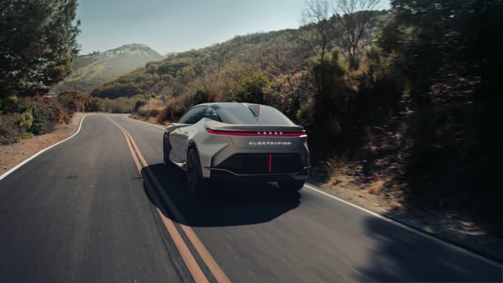 Lexus unveils LF-Z Electrified, a new concept EV symbolizing future lineup