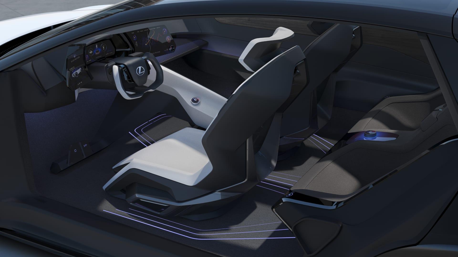 Lexus LF-Z Electrified concept vehicle
