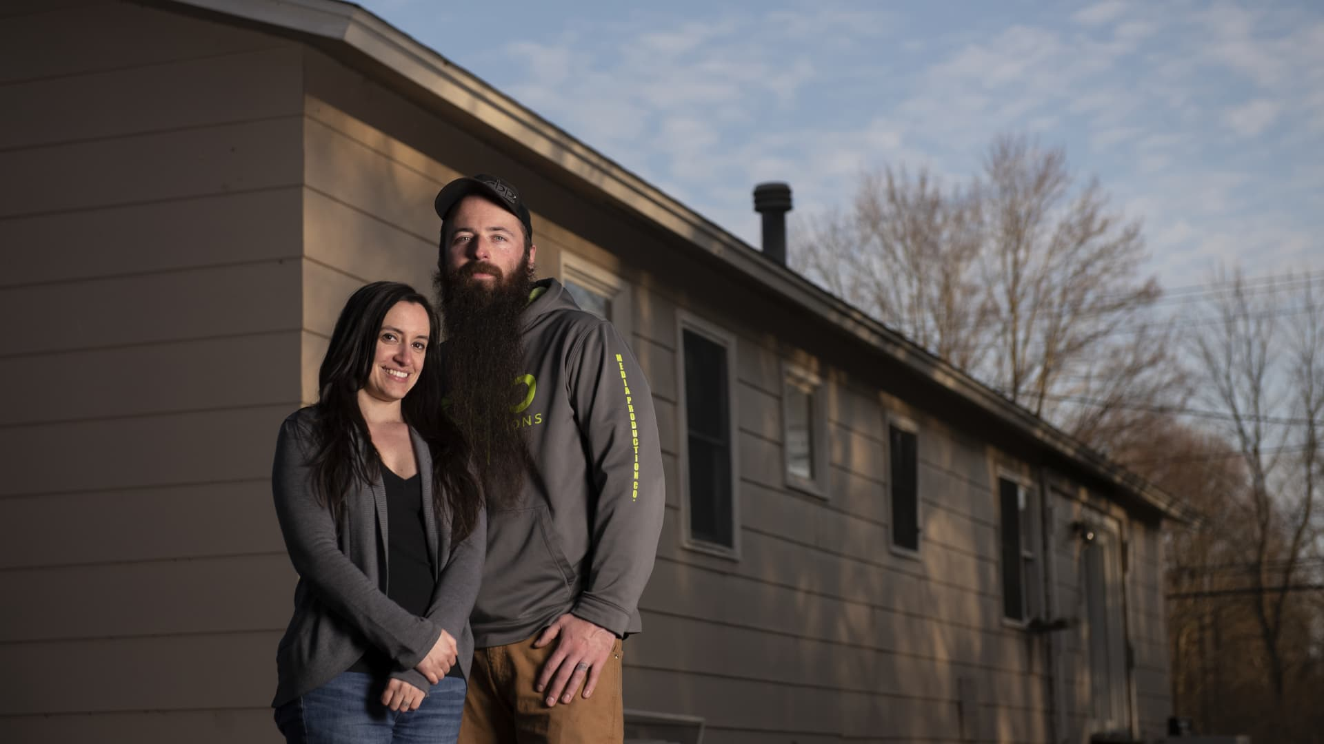 Jessica Kenney and her husband bought their 1,700-square-foot, three-bedroom, two-bathroom ranch in upstate New York for about $80,000 in 2010.