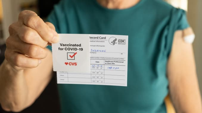 Covid-19: Why not to share your vaccination card on social media