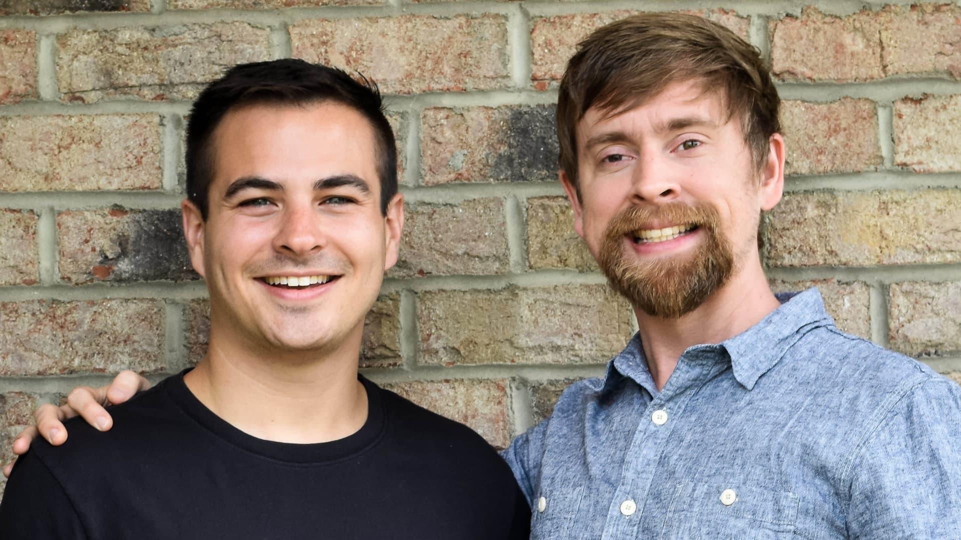 Lolli co-founders Alex Adelman, CEO, and Matt Senter, CTO.