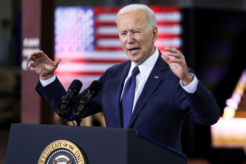 Presiden Biden memperkenalkan plot infrastruktur senilai $ 2 triliun -poin prinsipnya thumbnail