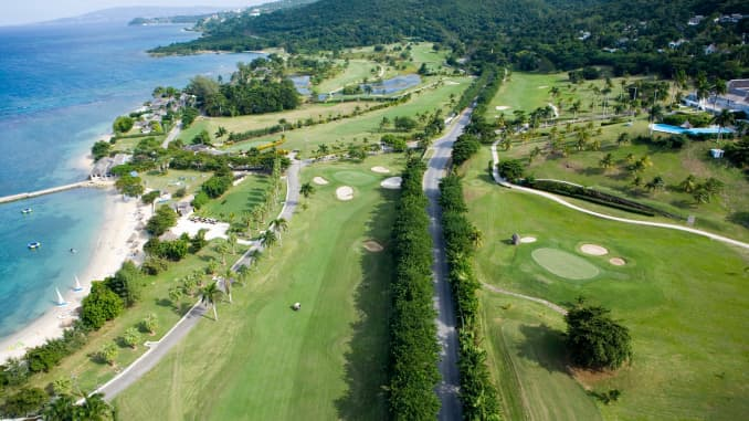 All-villa Jamaican resort The Tryall Club