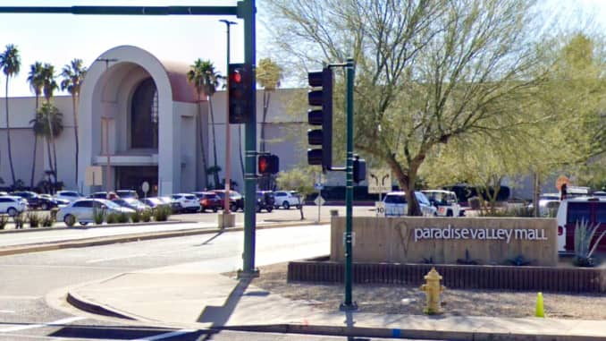 Macerich's Paradise Valley Mall in Phoenix, AZ.