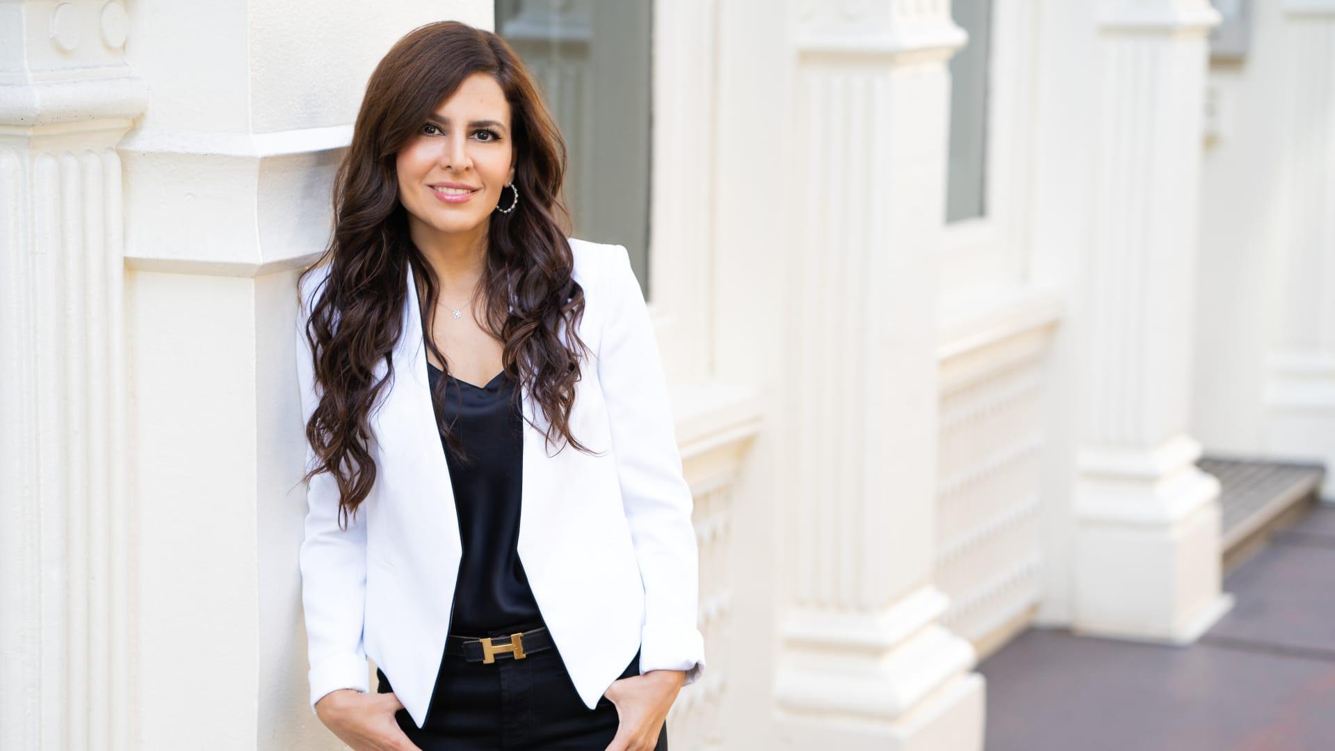 Executive wellness coach Naz Beheshti.