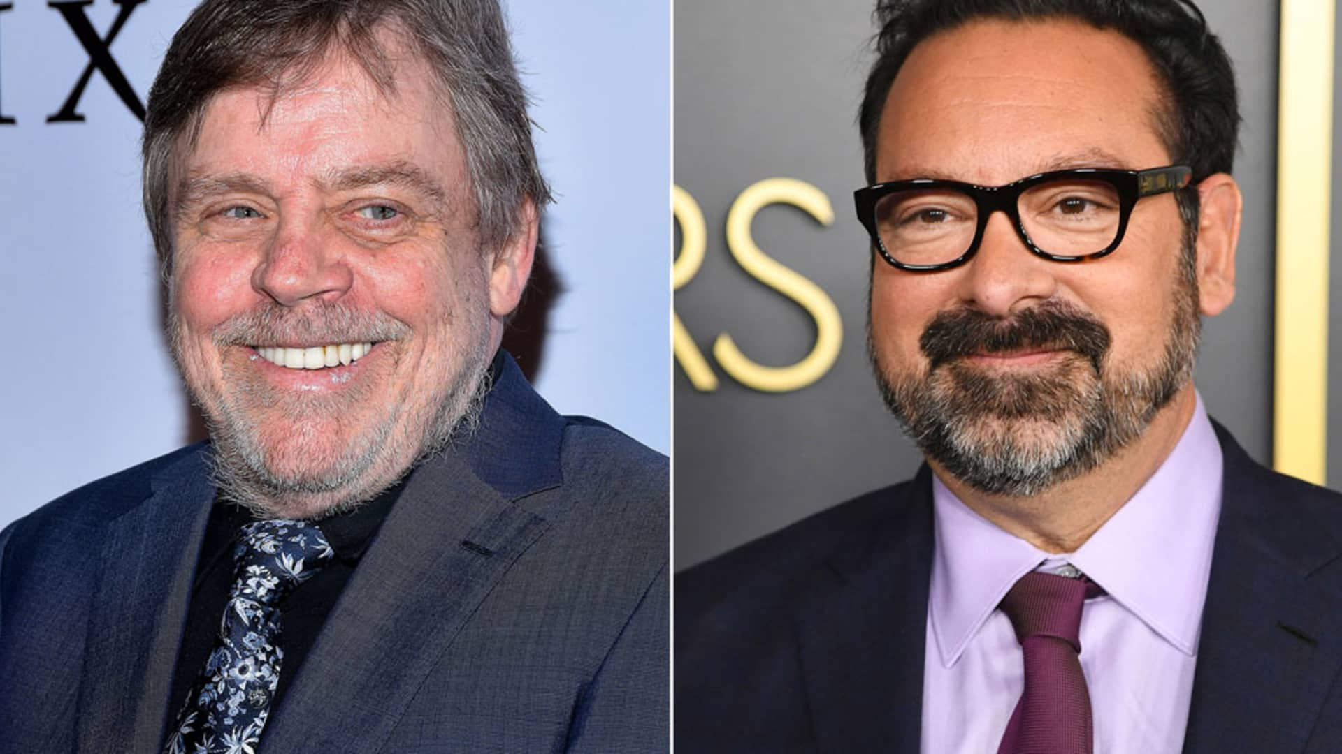 Mark Hamill, left, and James Mangold
