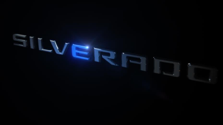 GM teases Chevrolet Silverado EV