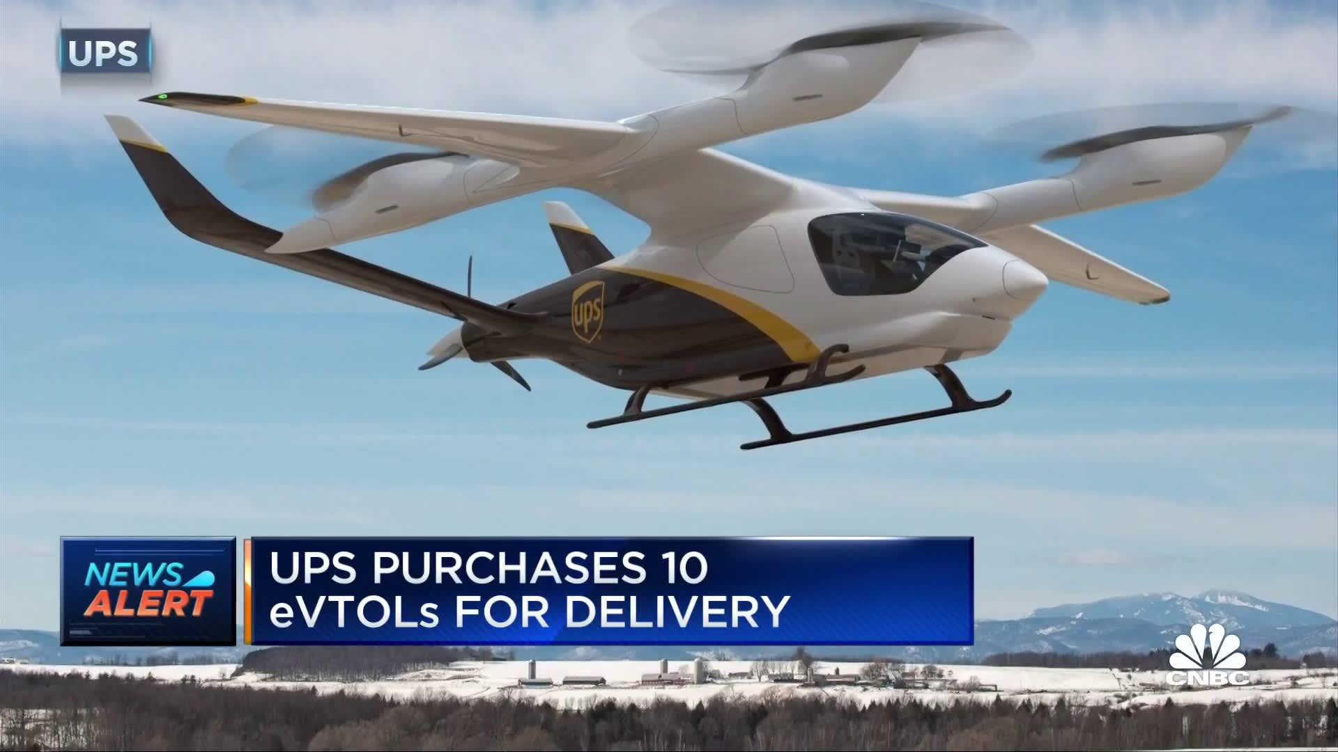 UPS buys Electric Vertical Aircraft to speed up Package Delivery