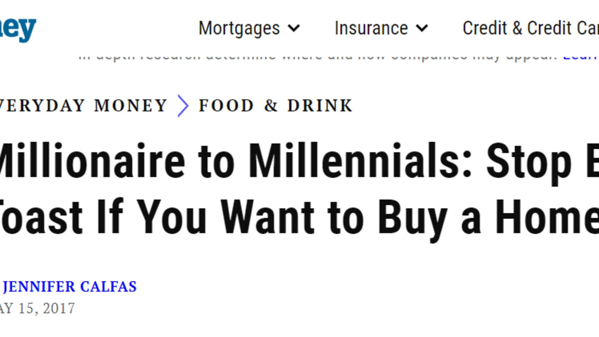 Picture avocado toast-consuming, latte-drinking, yoga mat-toting 20-somethings who live in their parents' basement, always job-hopping and drowning in debt. This trope quickly came to define millennials in many a media narrative.
