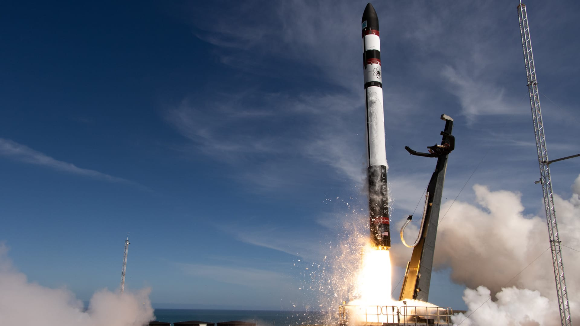 The 16th Electron launch in November 2020, when the company recovered the rocket after splashdown for the first time.