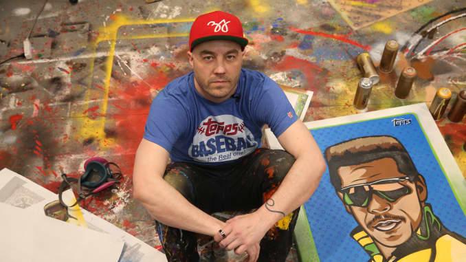 Artist Blake Jamieson