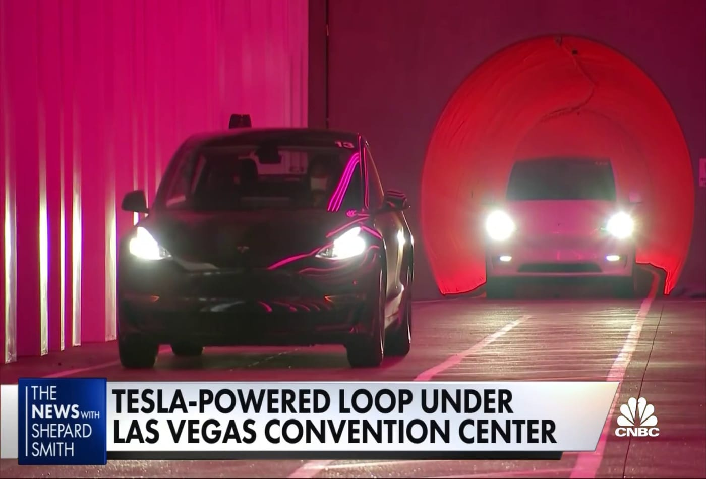 Elon Musk's underground loop tunnel in Las Vegas could portend the future