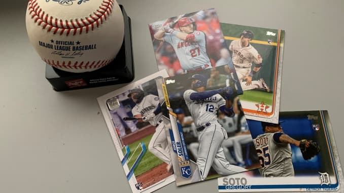 Topps kartu bisbol