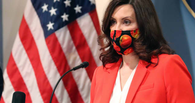 Covid cases overwhelm Michigan health system, Gov. Whitmer urges residents to stay home