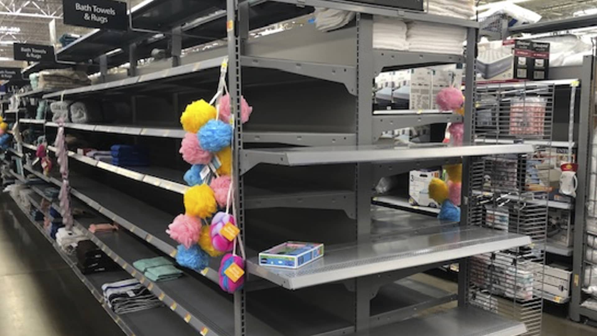 Walmart has had out-of- stocks and empty shelves at some stores in recent months. CEO Doug McMillon attributed it to high demand and supply chain challenges during the pandemic.