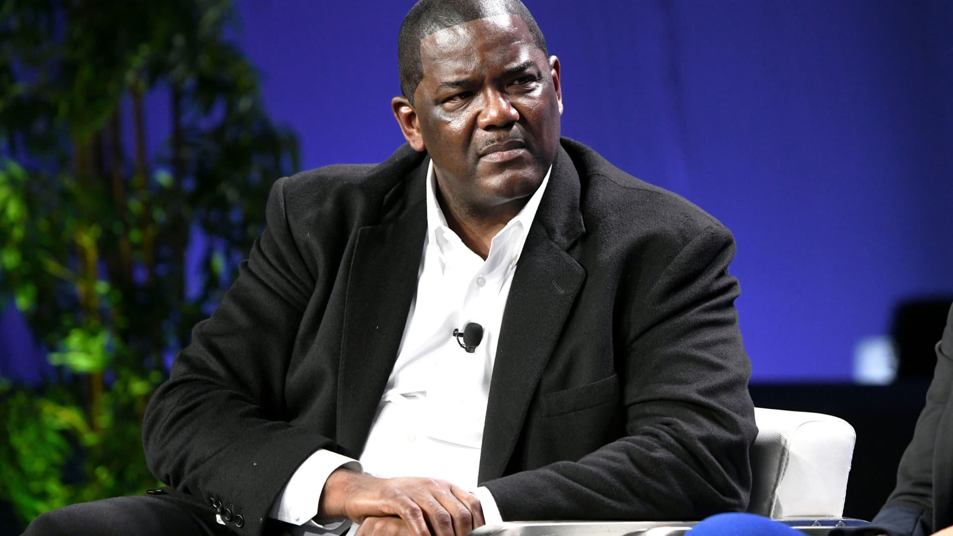 Joe Dumars participates in a panel discussion during the annual Milken Institute Global Conference at The Beverly Hilton Hotel on April 29, 2019 in Beverly Hills, California.