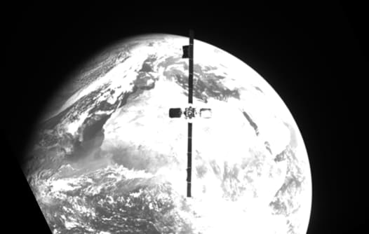 Northrop Grumman robotic MEV-2 spacecraft, in a first, catches active Intelsat satellite