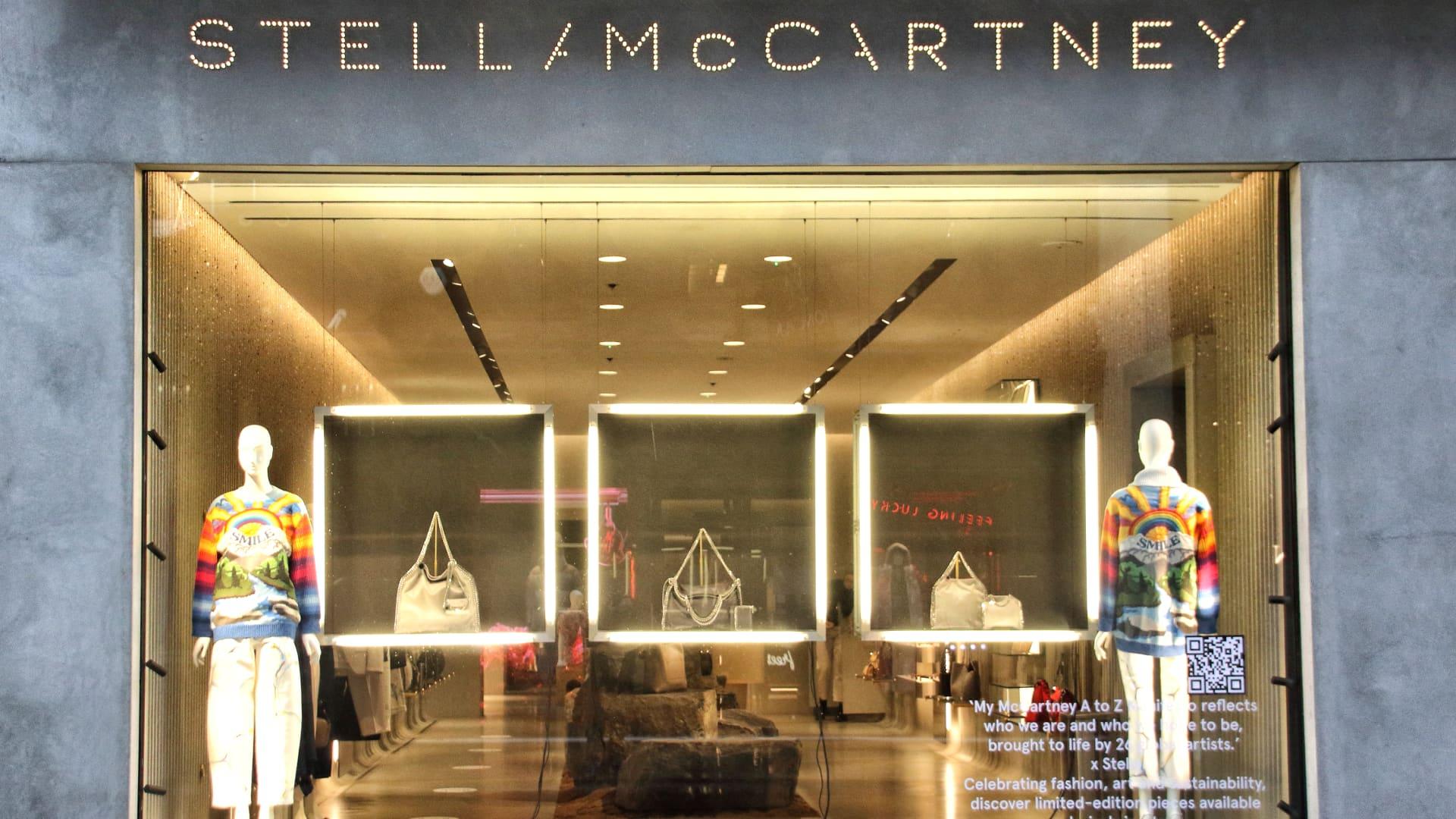 Stella McCartney store in Bond Street in November 2020.