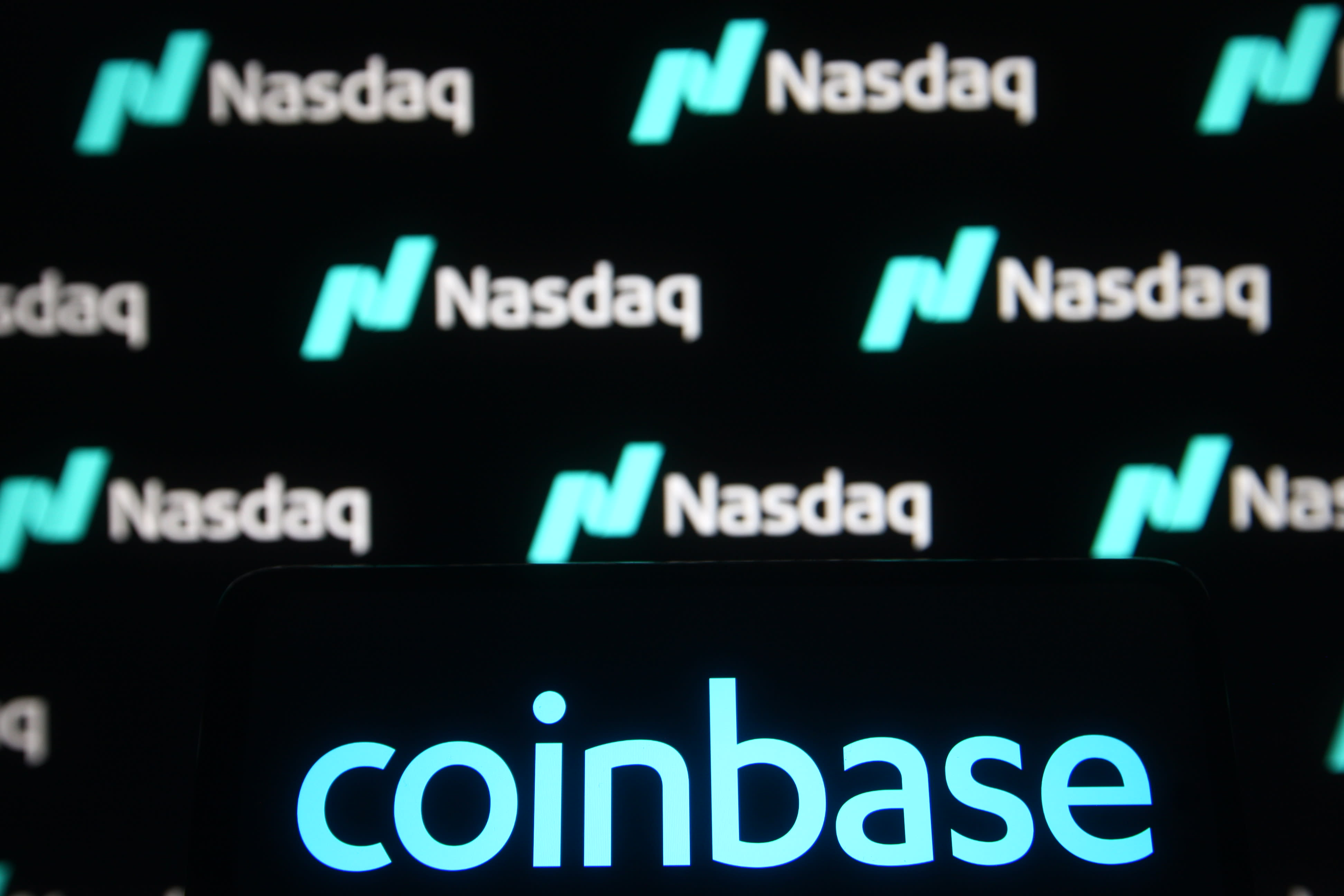 Coinbase indicated to open on Nasdaq at about $340 per share, up from $250 reference price