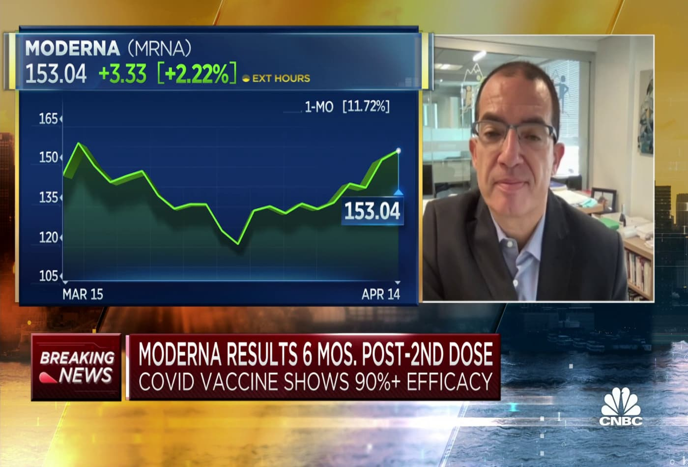 Moderna CEO: We hope to have Covid booster shot ready by the fall