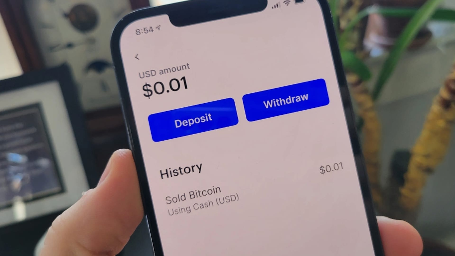 How to withdraw funds from Coinbase