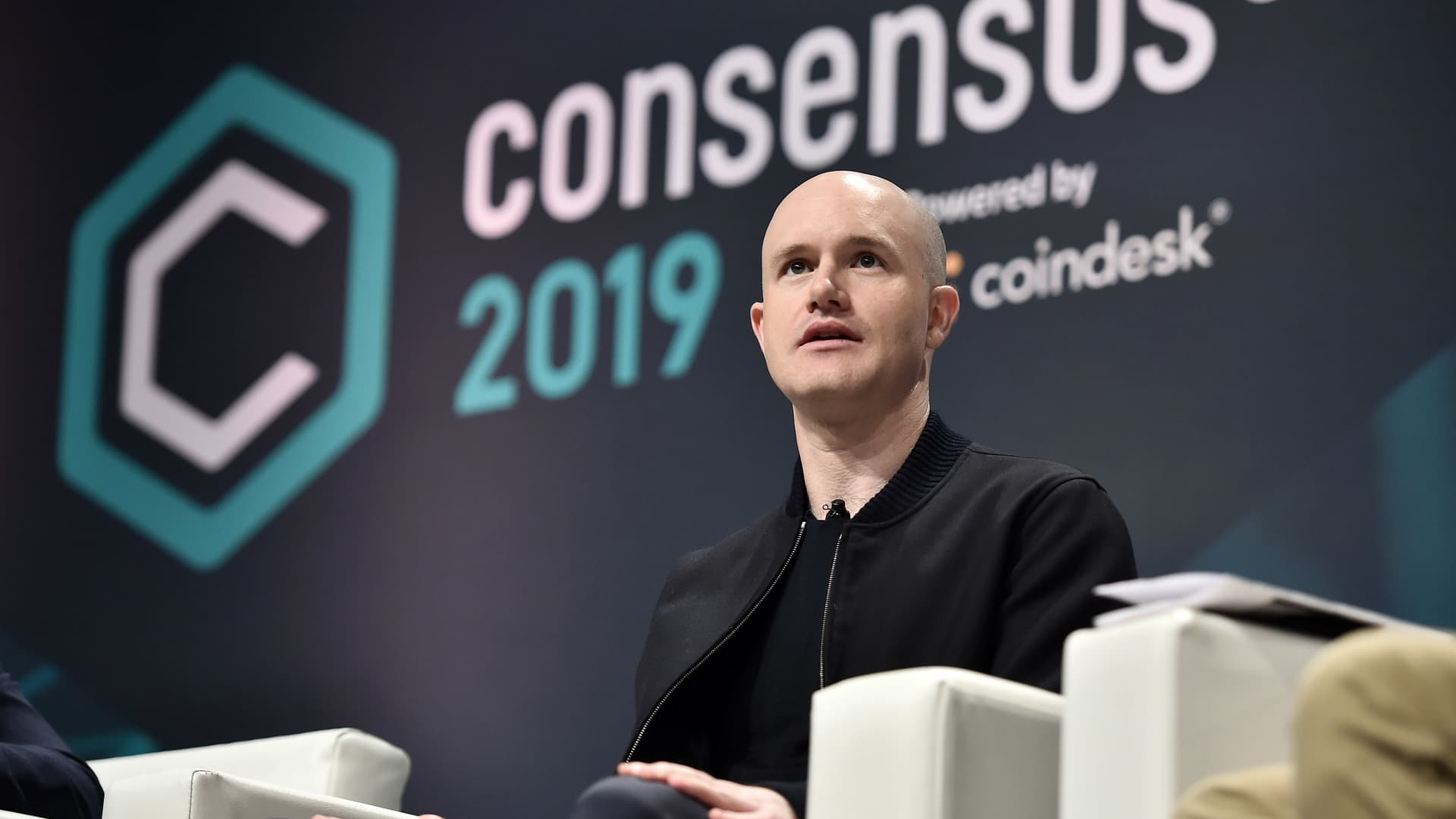 Coinbase Founder and CEO Brian Armstrong attends Consensus 2019 at the Hilton Midtown on May 15, 2019 in New York City.