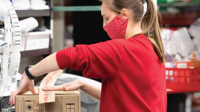 Target, package, online orders