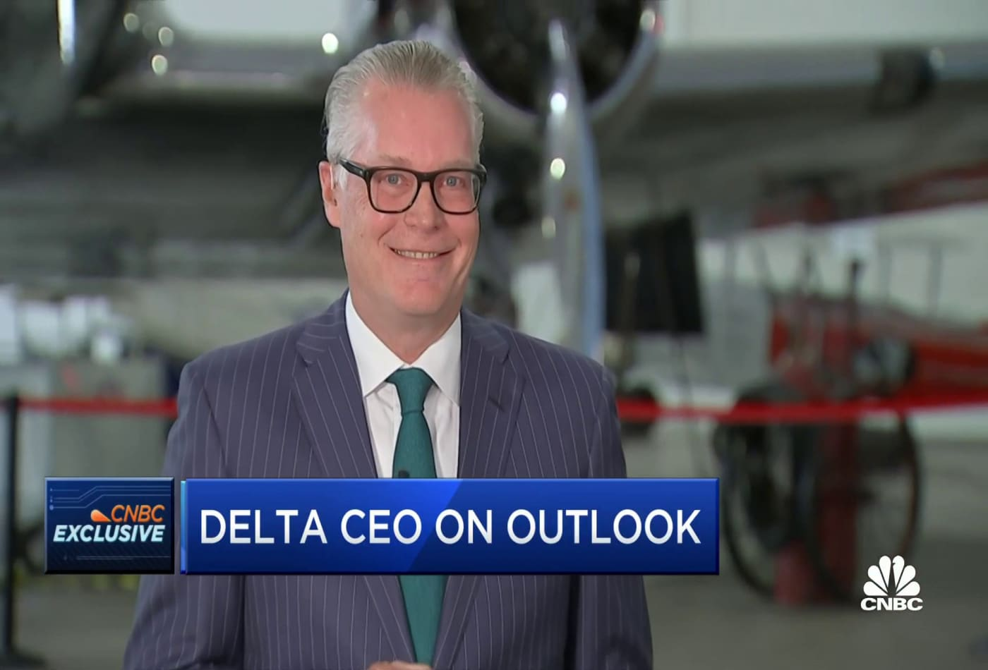 Watch CNBC's full interview with Delta CEO on first-quarter earnings, outlook and more