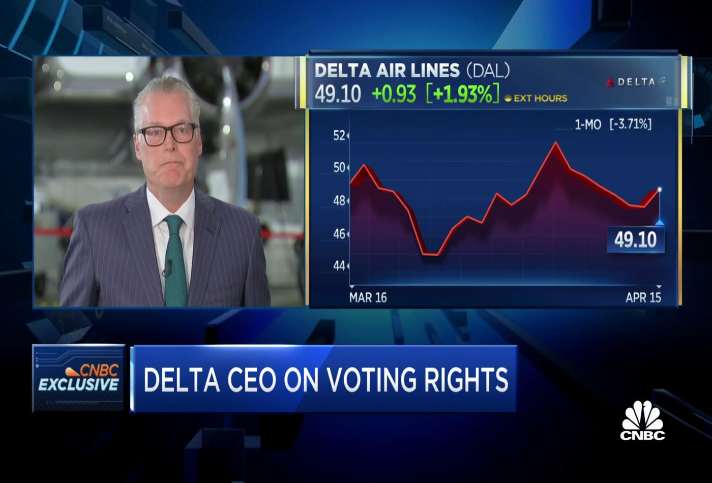 Delta CEO on decision to publicly oppose Georgia voting law