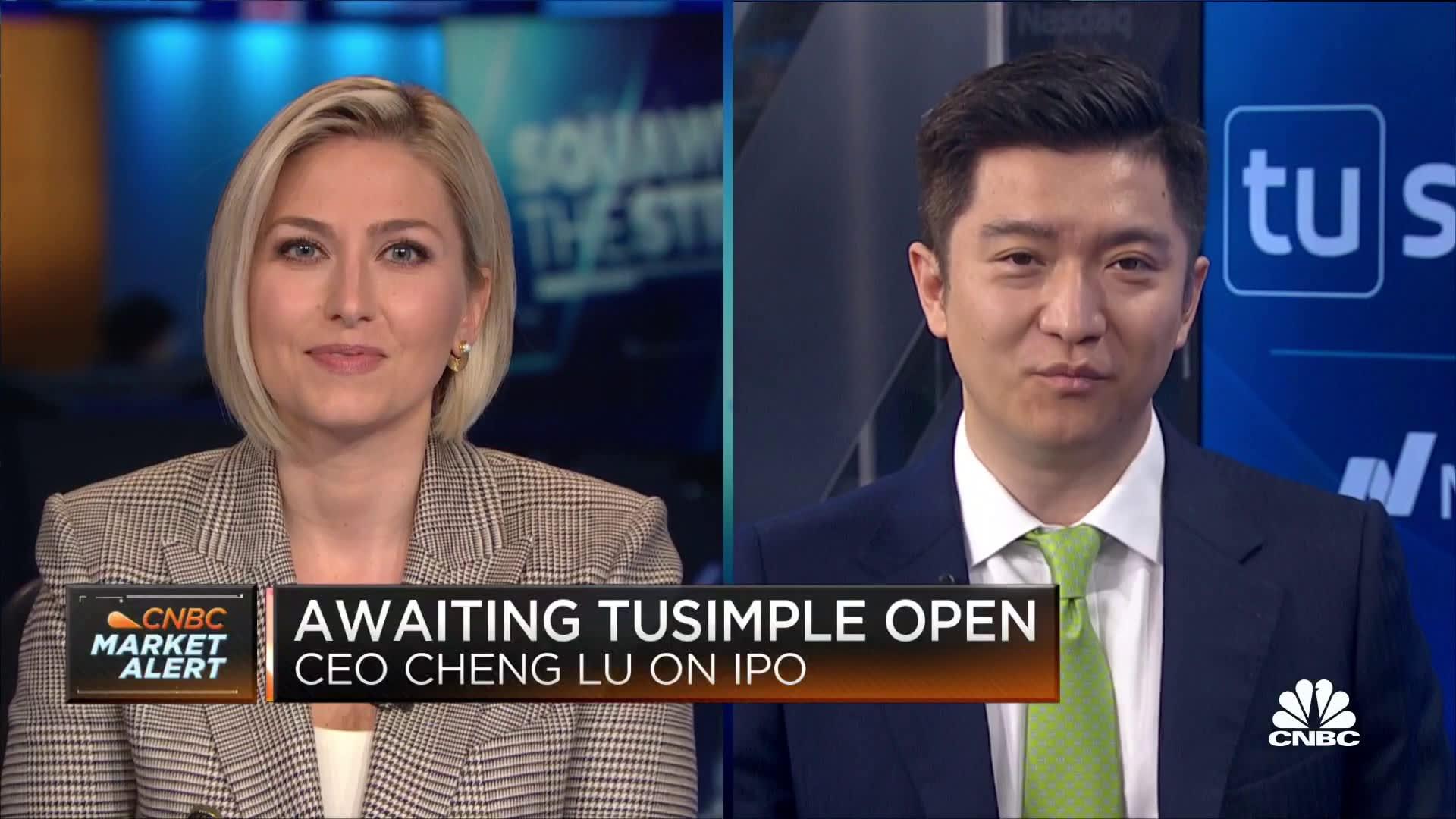 TuSimple CEO on its IPO debut, Future of Autonomous Trucks